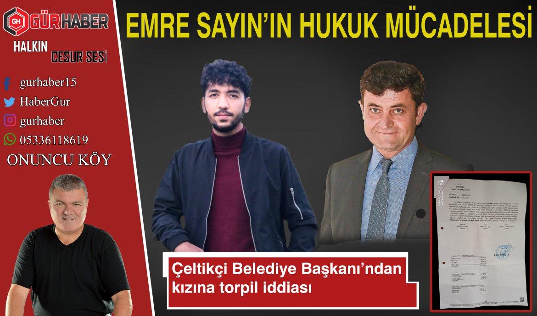 MHP'Lİ BELEDIYE BAŞKANININ TORPİL İDDİASINA HUKUK MÜCADELESİ