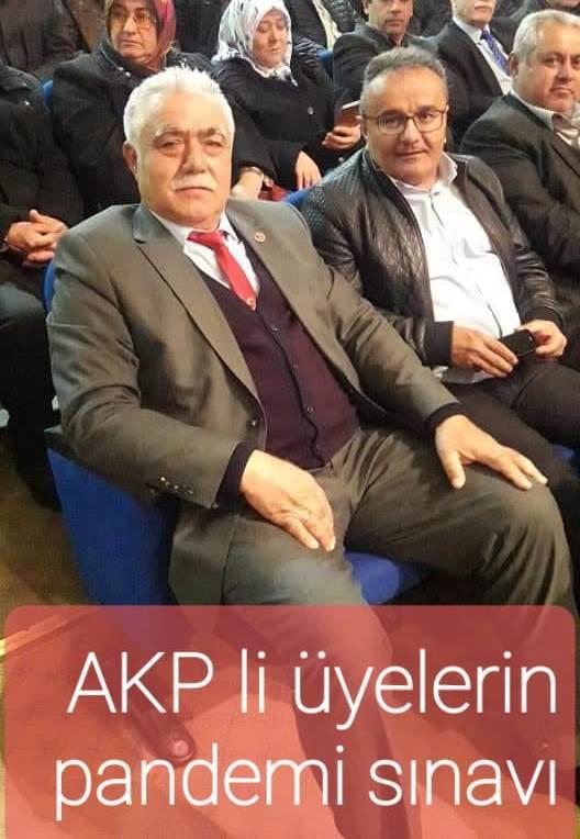 AKP'li ÜYELERİN PANDEMİ SINAVI